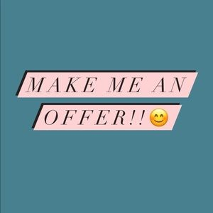 ACCEPTING ALL OFFERS NOW💕